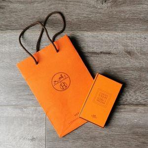 Hermes Knotting Cards & Paper Bag